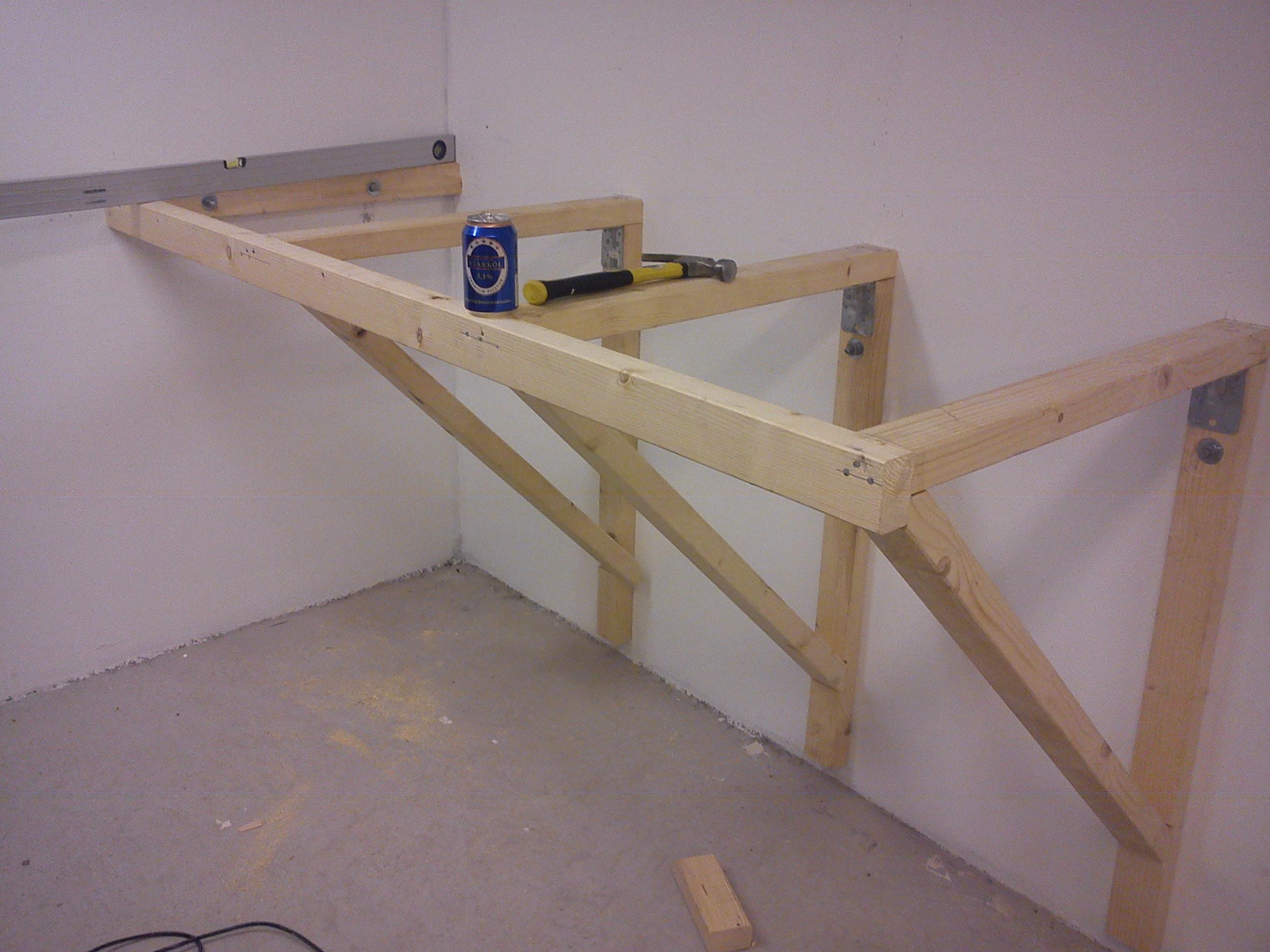 Nya Material till arbetsbänk i garaget - Tips och idéer - Locost Sweden QL-25
